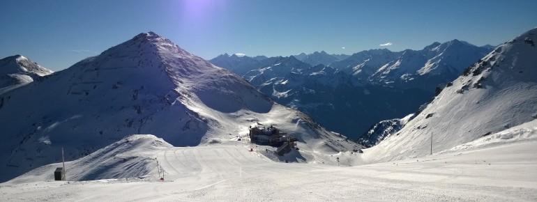 Panorama in Hochfügen im Zillertal