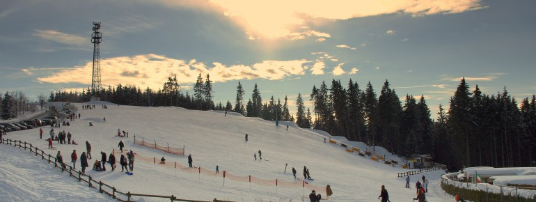 Great views and great slopes in the resort Winterberg