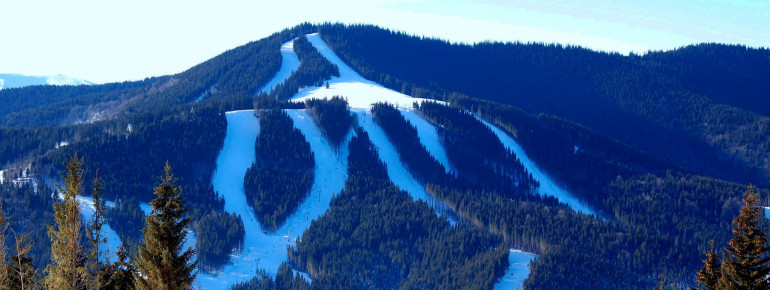 Bukovel is one of the largest and most famous ski resorts in the Ukraine.
