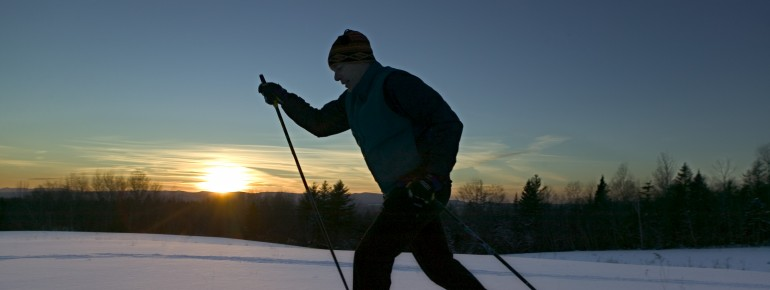 Vermont: a cross-country skier's paradise!