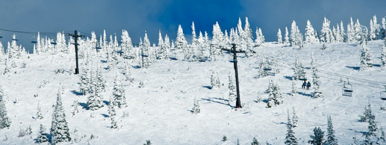 Paradise for powder fans!