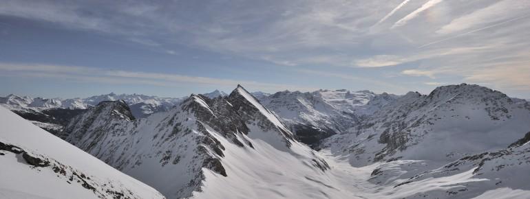 Das Aostatal bietet ein beeindruckendes Bergpanorama