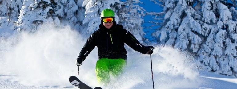 Die Bayerischen Alpen sind die top Skiregion in Bayern