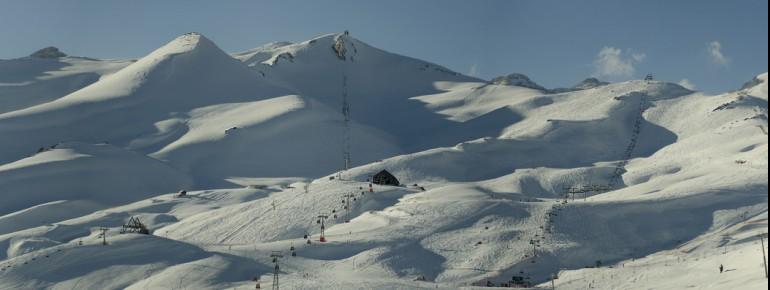 Pistenspaß pur verspricht das Skigebiet Valle Nevado