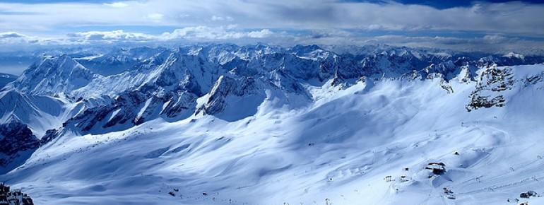 Skifahren an der Zugspitze ist für viele ein Traum