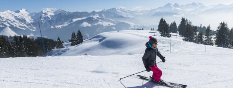Die Region Fribourg lädt zum entspannten Skifahren ein