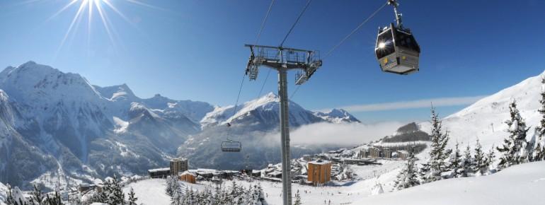 Auf ins Skigebiet Orcières Merlette 1850