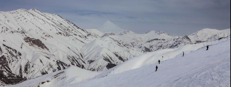 Ein echter Geheimtipp: Das Skigebiet Dizin im Iran