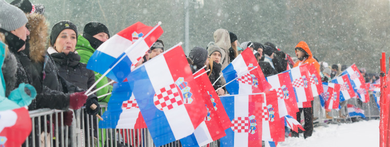 Sljeme ist Schauplatz des FIS Ski-Weltcups.