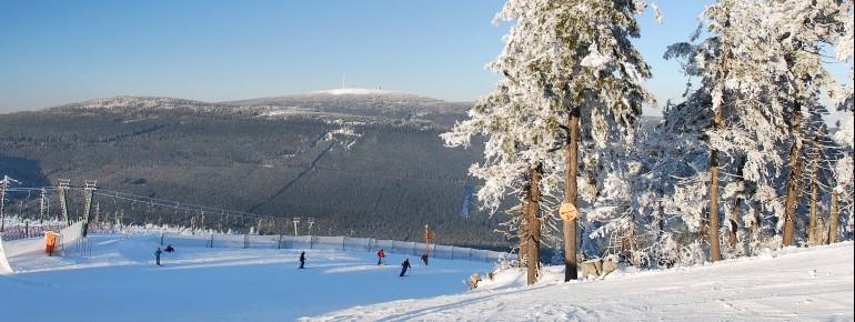 Nordhang im Skigebiet Wurmberg Braunlage
