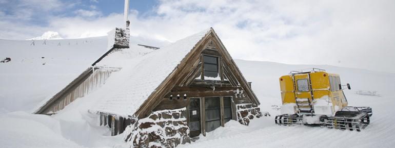 Oregon ist mit viel Schneefall gesegnet