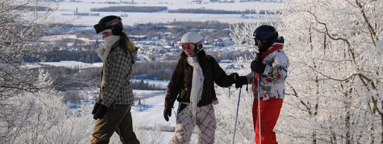 Der Osten Kanadas bietet viele reizvolle Skigebiete