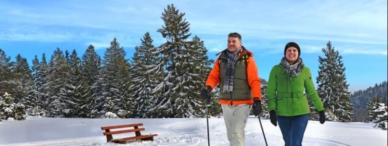 Die Schwäbische Alb lädt zum Winterwandern und Landglaufen ein