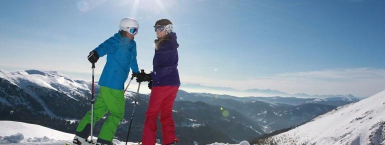 Aussichtsreiches Skifahren an der Turracher Höhe