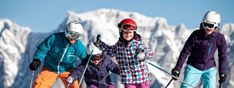 Die Tiroler Zugspitz Arena begeistert vor allem Familien
