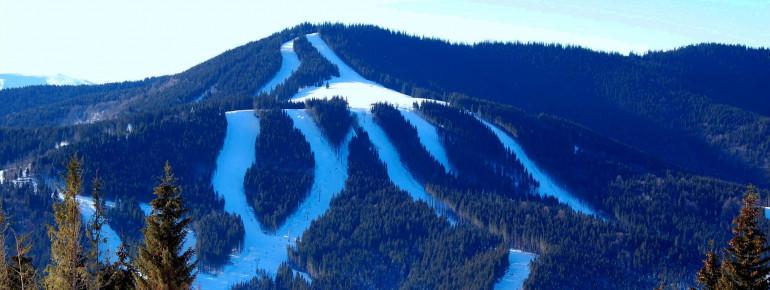 Bukovel ist eines der größten und bekanntesten Skigebiete in der Ukraine.