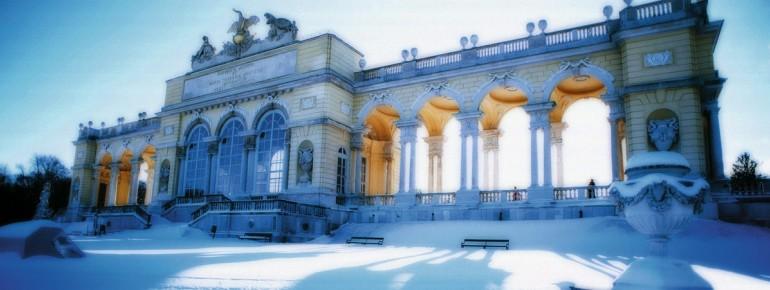 Schloss Schönbrunn im Winter