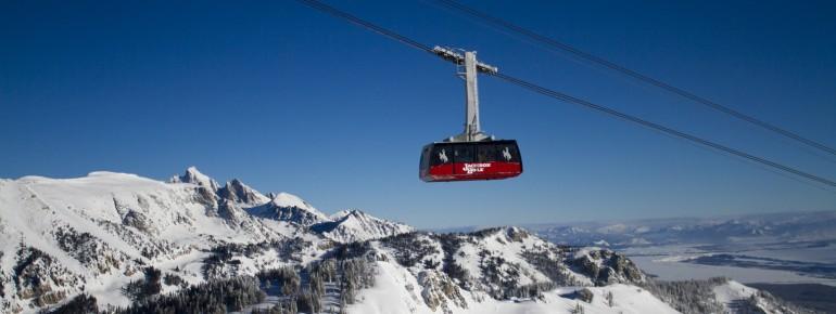 Jackson Hole ist das größte Skigebiet Wyomings