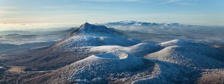 Erloschene Vulkane laden in Auvergne zum Skifahren