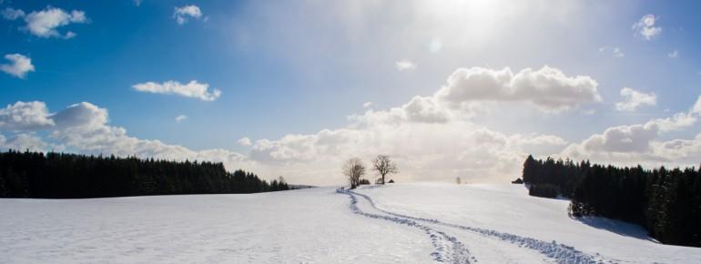 Winterwunderland im Frankenwald