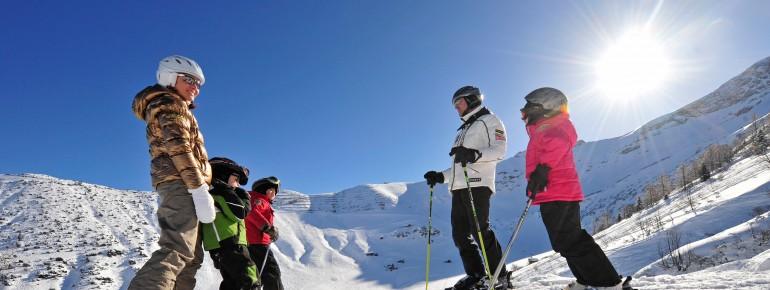 Das Liechtensteiner Skigebiet Malbun ist bei Familien beliebt