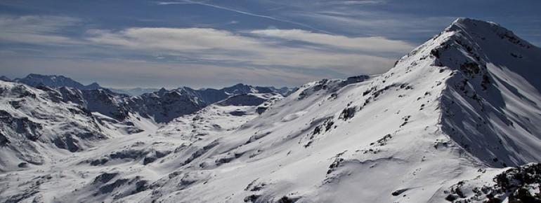 Aussicht im Skigebiet Bormio