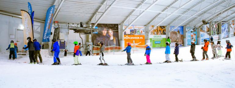 Wo Kinder in Amsterdam das Skifahren lernen? Im SnowPlanet!