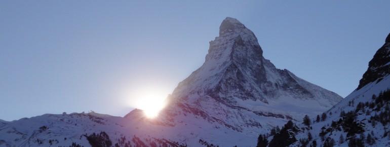 Das legendäre Matterhorn