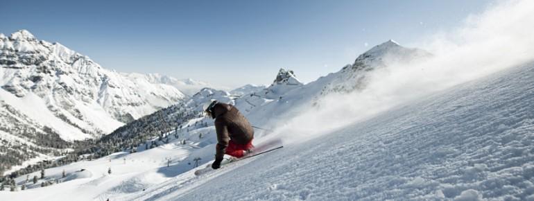 Pistengenuss pur im Skigebiet Schlick 2000