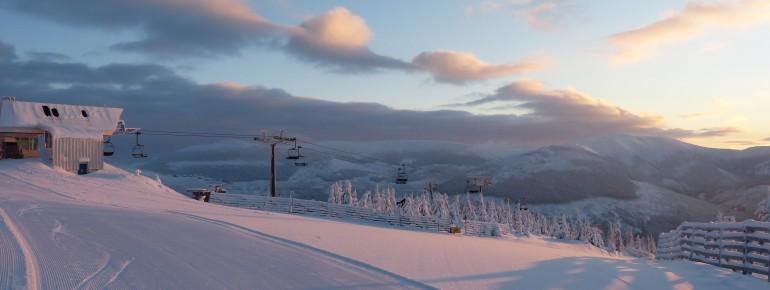 Spindlermühle ist das größte der tschechischen Skigebiete