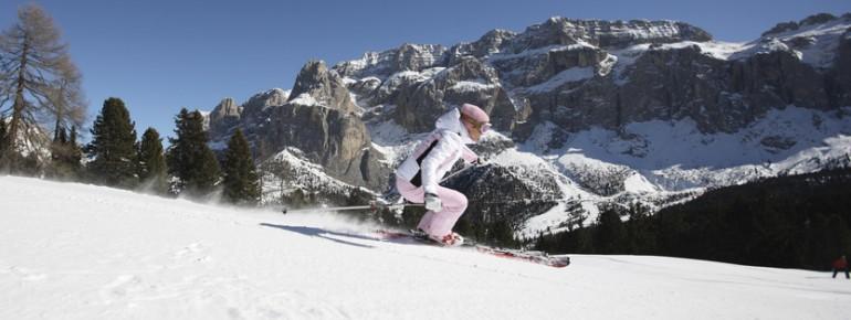Über 1000 Pistenkilometer kann man in Italien erkunden