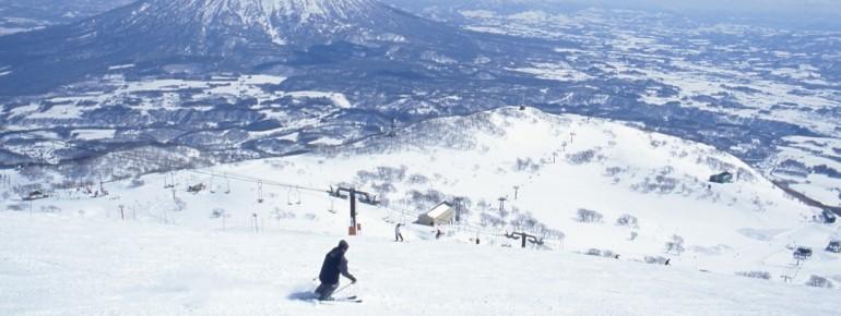 Niseko ist mit über 15 Metern Schneefall pro Saison ein wahres Schneeloch