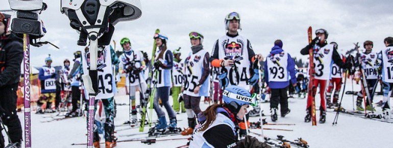 Zakopane is used as a venue for many different skiing competitions.