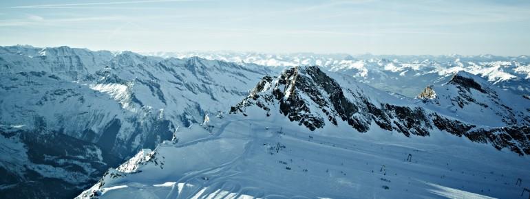 Die Pisten am Kitzsteinhorn reichen bis 3.000 Meter
